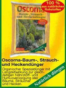 Oscorna-Baum-, Strauch- und Heckendünger - für die Düngung von Kirschlorbeer empfehlenswert